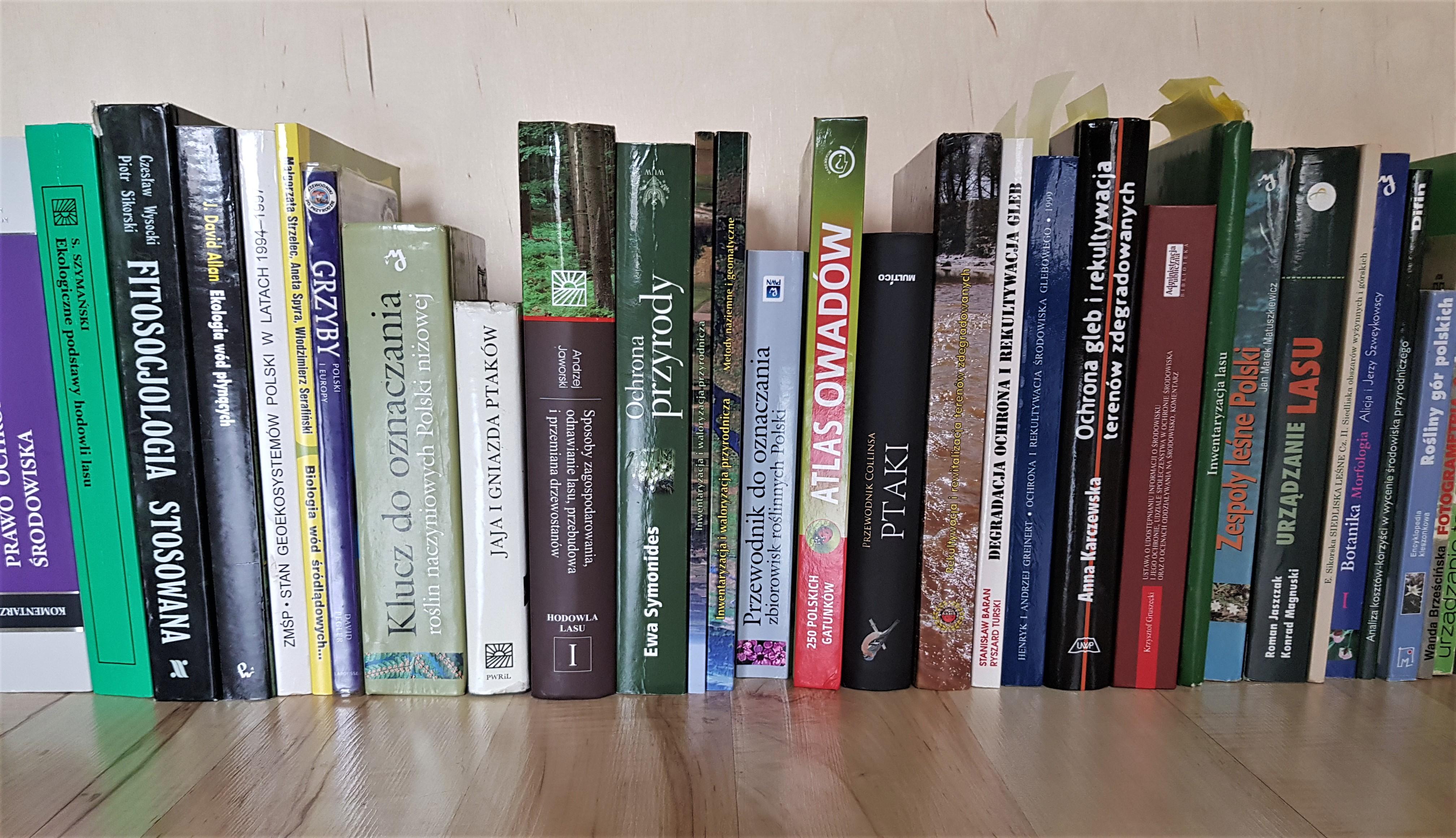 Literatura fachowa - Pracownia środowiskowa Prohabitat