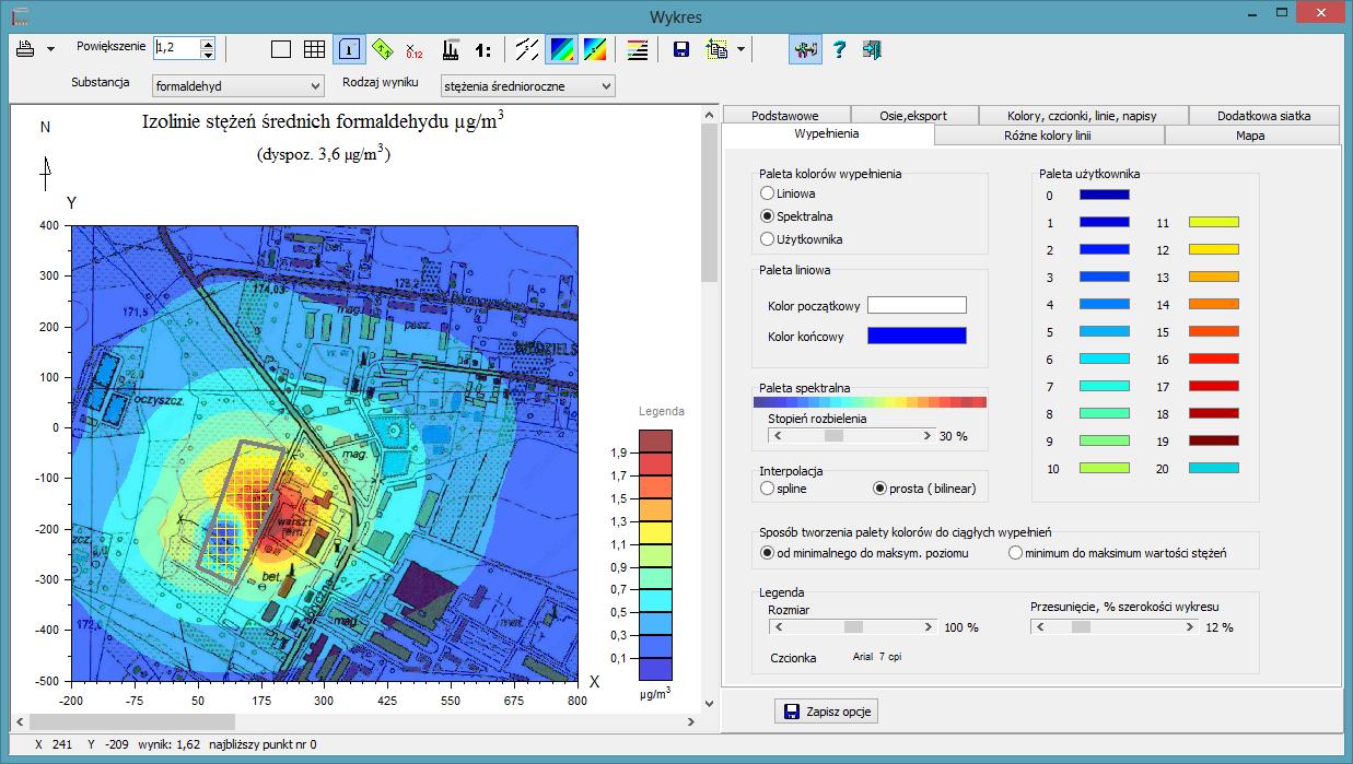 Oprogramowanie do modelowania rozprzestrzeniania się zanieczyszczeń w powietrzu - Pracownia środowiskowa Prohabitat